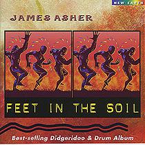 ACD01 フィート イン ザ ソイル ジェームス アッシャー James Asher<オーラソーマ・ミュージックCD>