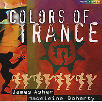 ACD05 ザ カラ-ズ オブ トランス ジェームス アッシャー&マデリン ドハーティ James Asher and Madeleine Doherty<オーラソーマ・ミュージックCD>