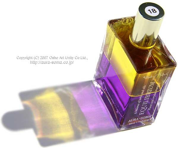 オーラソーマ イクイリブリアム ボトル B018