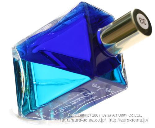 オーラソーマ・イクイリブリアム B033 Dolphin bottle / Peace with a Purpose ドルフィンボトル / 目的をもった平和