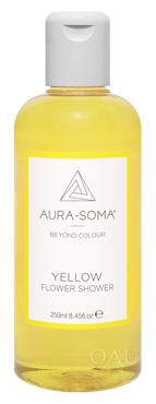 FS02 イエロー 柑橘系のレモンの香り<オーラソーマ・フラワーシャワー・250ml>