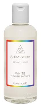 FS06 ホワイト  クリーン&フレッシュ、じゃこうの香り<オーラソーマ・フラワーシャワー・250ml>