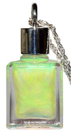 PSRB02 グリーン  <オーラソーマ・レインボー オパール ペンダント>