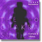 SCD03 チャクラスウィート3 ブルー コマラ & ヴィーアス Komala & Vibhas<瞑想CD/瞑想音楽>